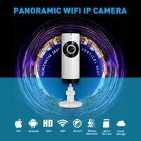 185 Degree Home Security IP Camera Wi Fi Wireless Mini Network Camera Surveillance Wifi 720P CCTV