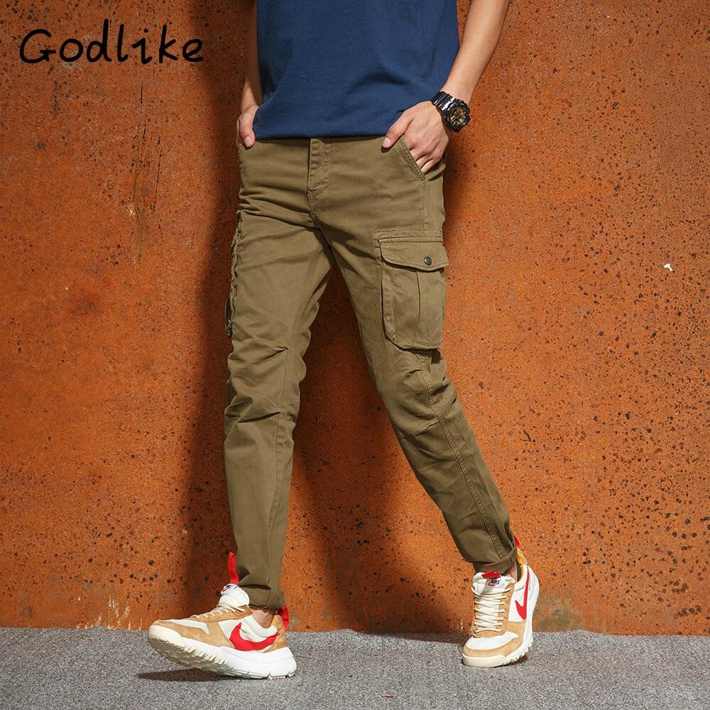 Città Tattici Pantaloni Cargo Uomini Di Combattimento Swat Esercito Militare Pantaloni Di Cotone Molte Tasche Stretch Flessibile Uomo Casual Pantaloni 28- 38