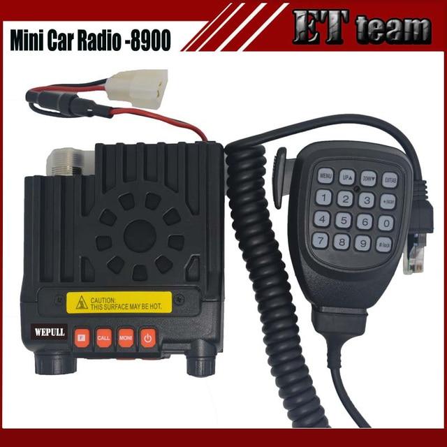 Новый двухстороннее Мини автомобилей mobile radio mini-8900 cb приемопередатчик dual band136-174 & 400-480 МГц два-способ CB радио walkie talkie 8900