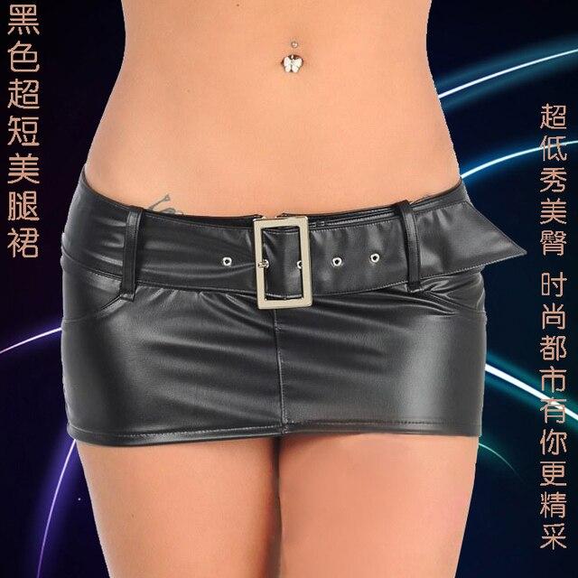 Short skirt showing ass