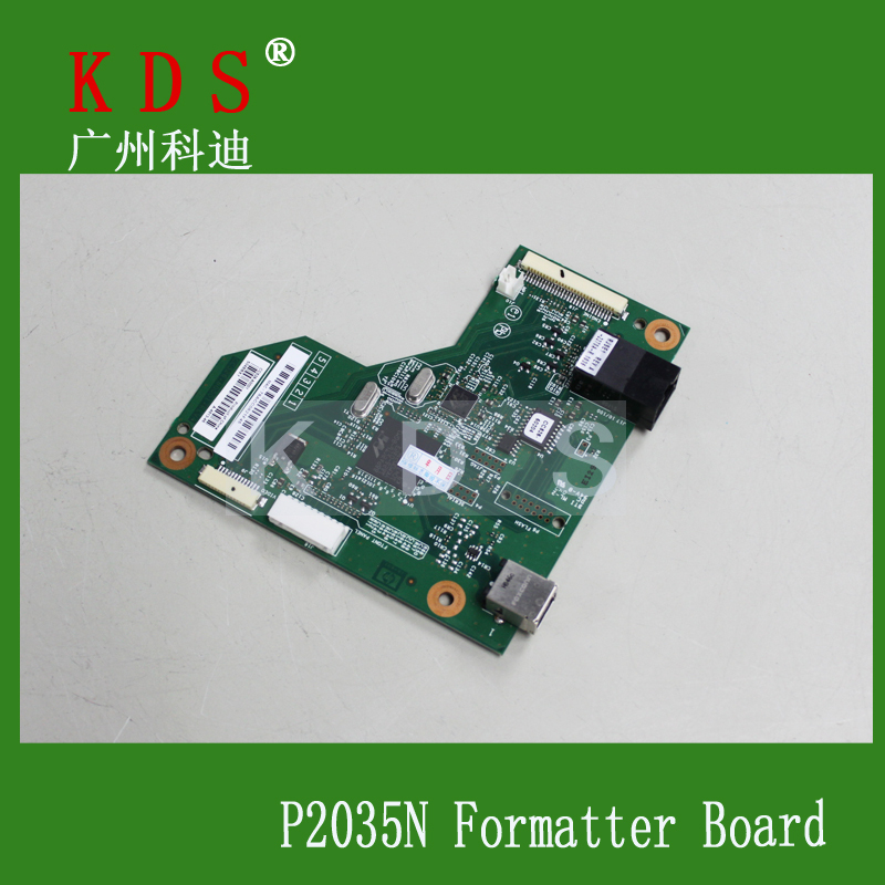 5 pcs/lot printer spare parts for HP P2035N laserjet parts CC526-60001 Main board in china