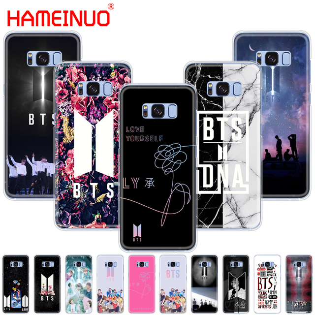 on sale 38bd8 eccb7 US $1.99 32% OFF|HAMEINUO BTS Bangtan Boys Coque NEW LOGO cell phone case  cover for Samsung Galaxy S9 S7 edge PLUS S8 S6 S5 S4 S3 MINI-in  Half-wrapped ...