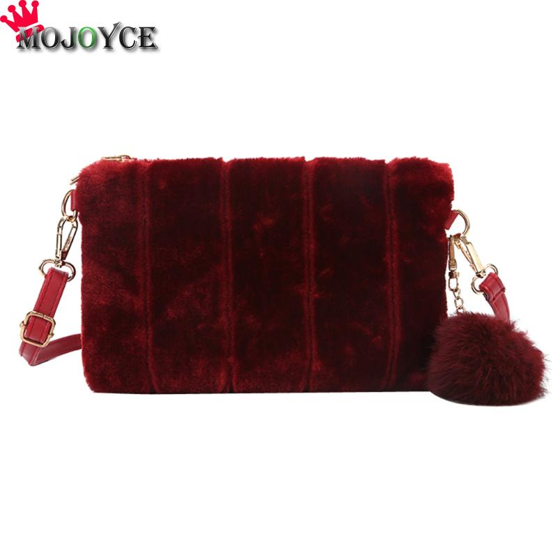 Women Envelope Day Clutches Handbags Female Fur Bag Fashion Evening Party Bags Plush Crossbody Shoulder Bags Clutch Purse Bag women genuine leather character embossed day clutches wristlet long wallets chains hand bag female shoulder clutch crossbody bag