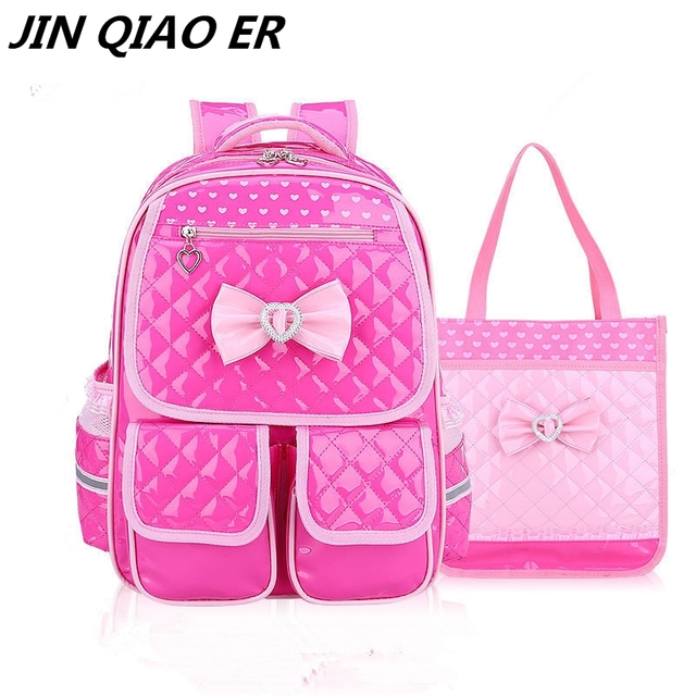 waterproof Children School Bags Girls primary school Backpack set  Orthopedic Backpacks Schoolbags Kids satchel Mochila Infantil 93d03a7c10ad9