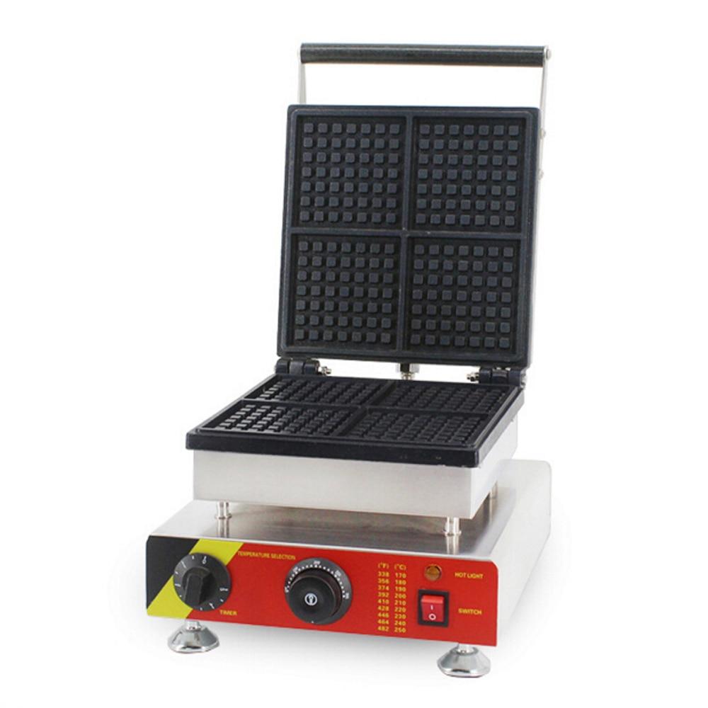 ITOP Электрический вафельница антипригарным гладить Hot Plate вафельница пузырь яйцо торт Бейкер машина Кухня Инструменты