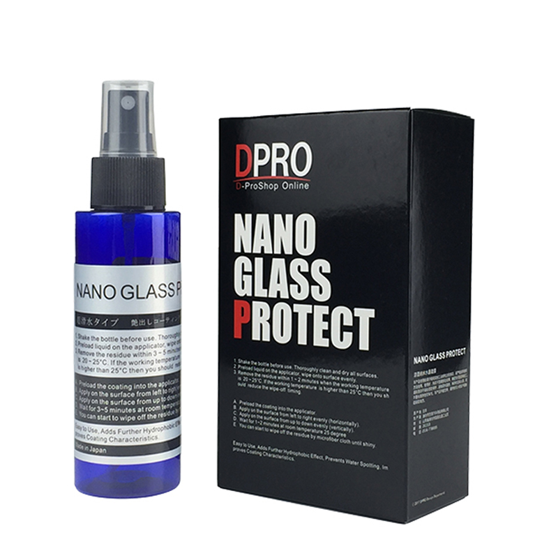 100ml Car Paint Care Liquid Glass Coating Nano Hydrophobic Coating Paint Protective Foil Spray Nozzle Choice Rain Water Repel