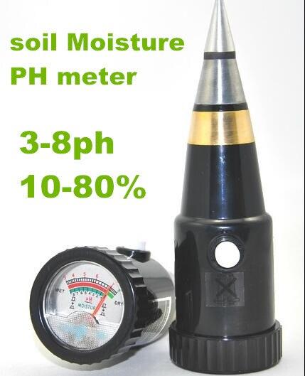 10pcs by dhl fedex Professional VT-05 multifunctional humidity ph tester soil Moisture Meter 3~8ph Hygrometer for Garden  vt 05 digital ph meter for soil with ph range 3 8ph moister range 1 8