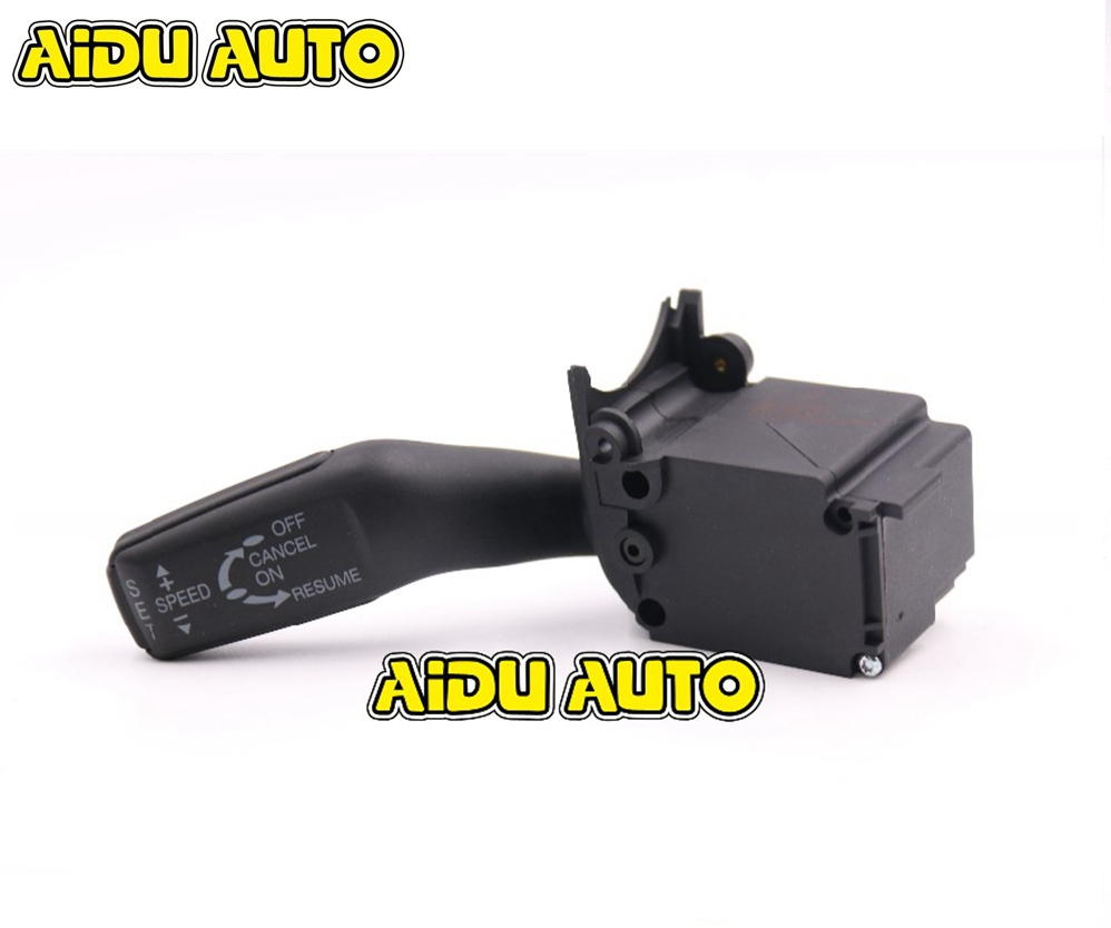 4E0 953 521 Régulateur de Système CCS Commutateur Tige Colonne Pour Audi A4 B6 A8 A6 C6 Q7 4E0953521