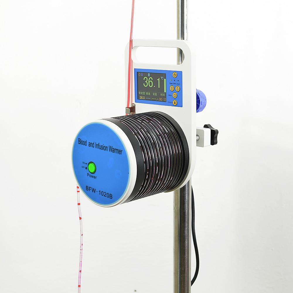 Преносим топъл кръв BFW1020B с инфрачервен сензор за наблюдение на капките за вливане на кръв