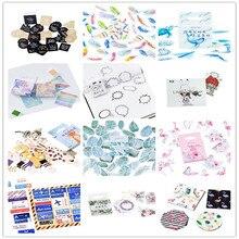 45pcs/box Cute Various Animal plant flower Diary Mini Paper Label Stickers  Scrapbooking Decorative Sticker DIY Stationery