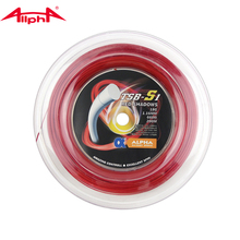Alpha RED SHADOWS 1.16mm Tennis Racket String 200m Reel Thin Amazing Controll,Excellent Spin TSB-S1