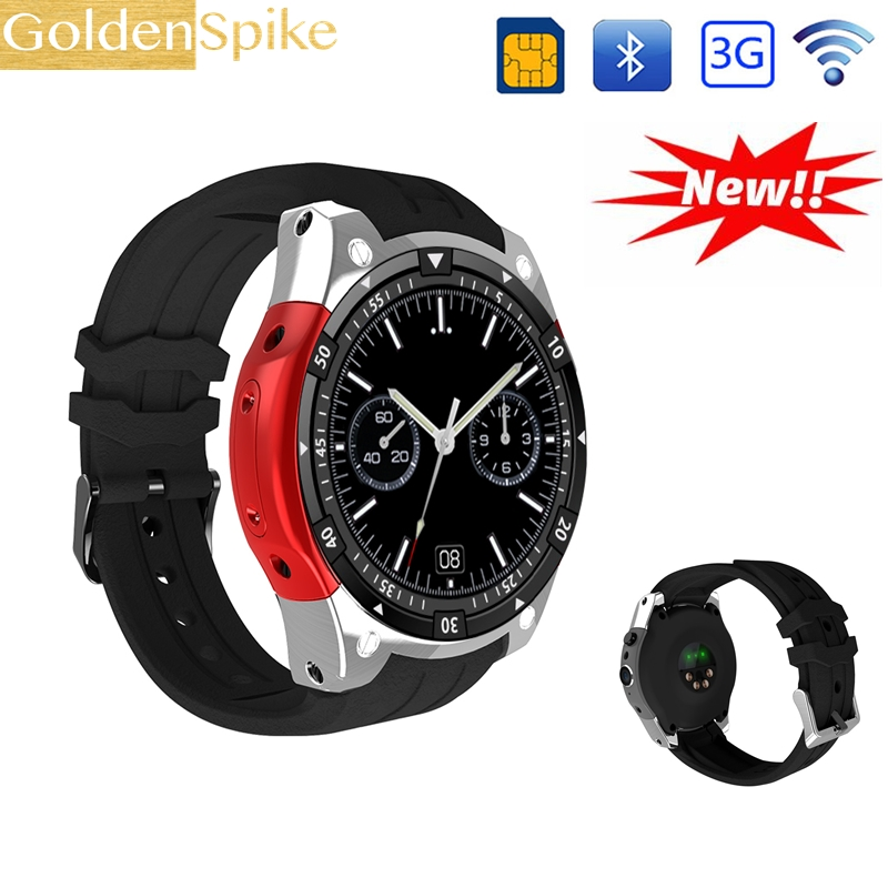 2018 Smart Watch X100 pk KW88 Bluetooth 4.0 WiFi 3G GPS Android 5.1 MTK6580 2.0MP Fitness Tracker Heart Rate PK Samsung Gear S3 kw06 smart watch android 5 1 mtk6580 quad core pk kw88 wifi gps 3g smartwatch phone fitness tracker heart rate tracker watch man