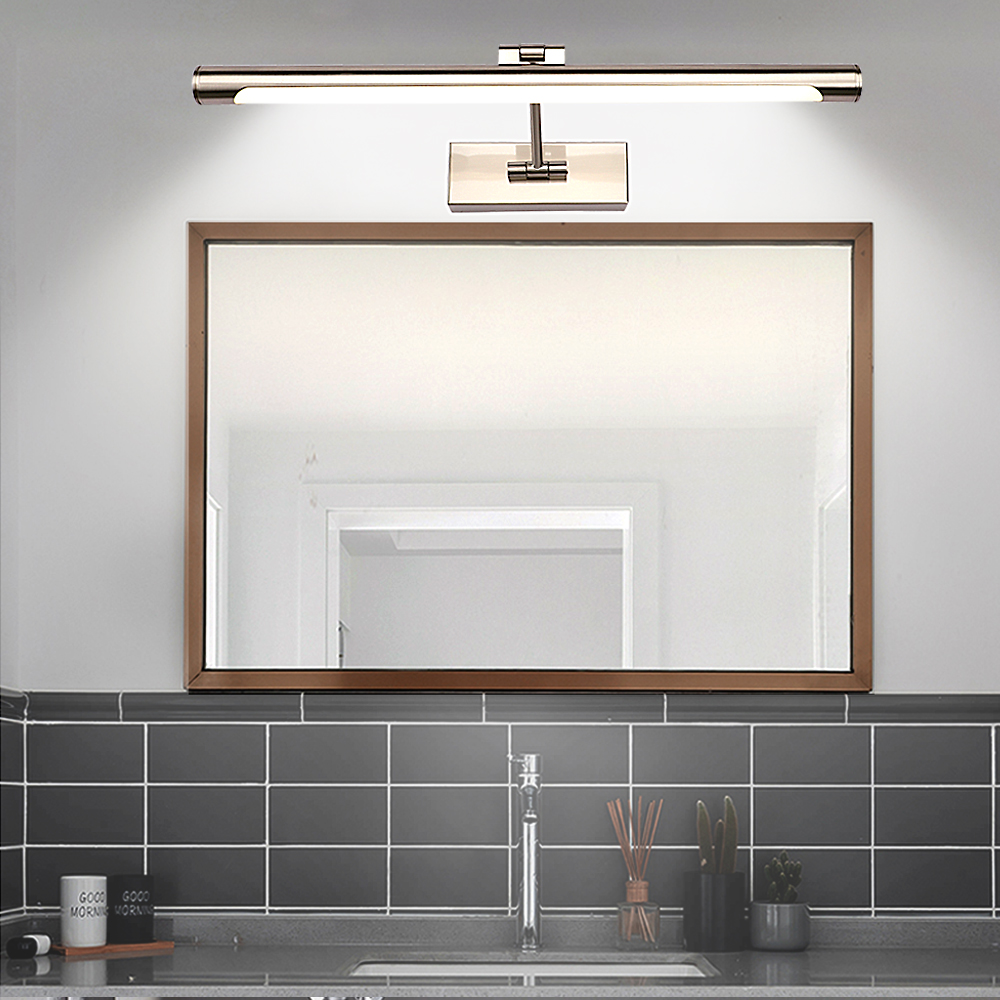 Zerouno LED 220V 110V Makeup Mirror Light Bulb Bed Room Bathroom Vanity Lights Wall Lamp 42cm 55cm 81cm for Dressing Table Lamp