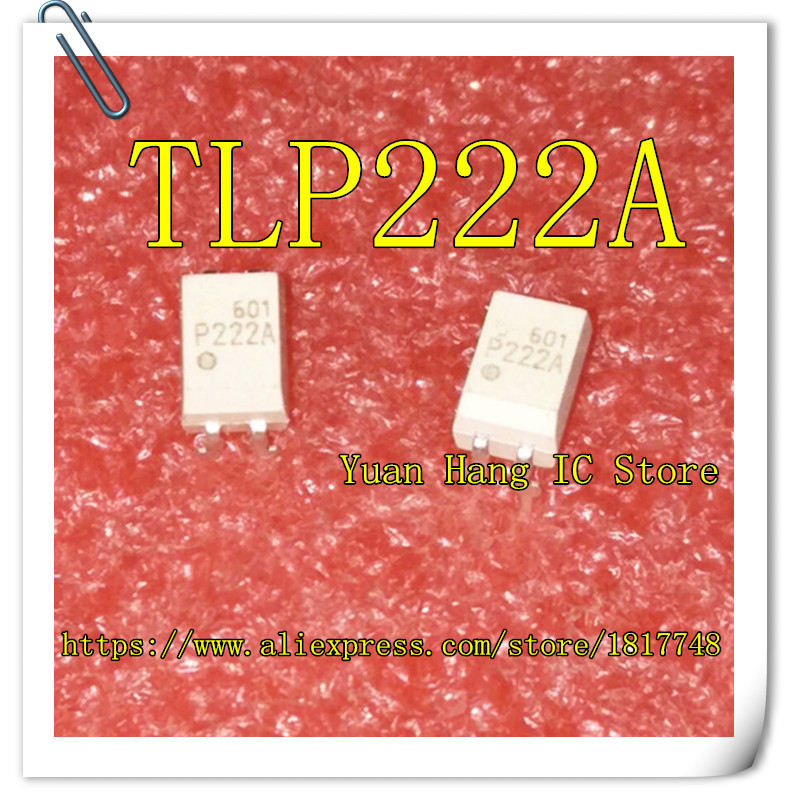 10PCS/LOT TLP222A P222A P222 222A DIP-4  New Original Opto Isolator Photoelectric Coupling