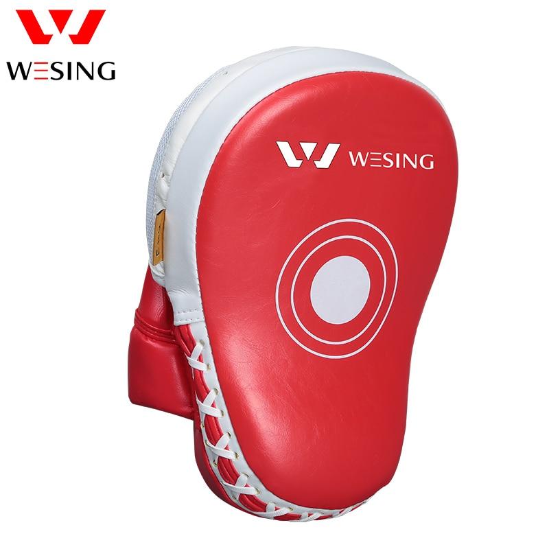 Wesing Target MMA Boxing Mitt Focus Punch Pad Training Glove Karate Muay Thai Kick