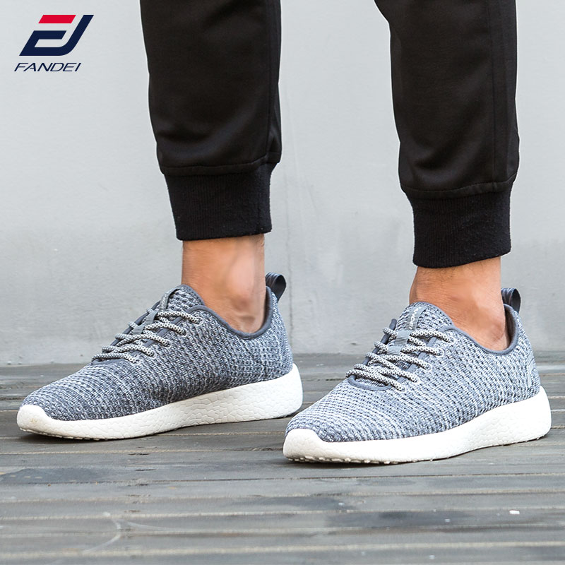 FANDEI autumn running shoes for men light running lace up sneakers men sport shoes woman yeezys air zapatillas hombre deportiva glowing sneakers usb charging shoes lights up colorful led kids luminous sneakers glowing sneakers black led shoes for boys