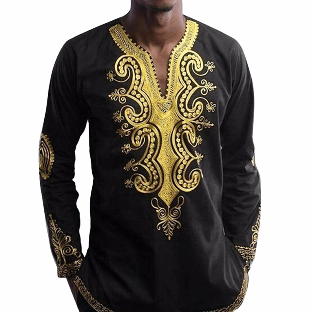 Drop shipping mens hipster hip hop african dashiki graphic for Where to buy a dress shirt