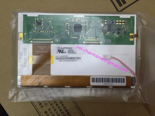CLAA070VA01 7 INCH INDUSTRIAL DISPLAY SCREEN 800*480 TFT lq10d36a 10 4 inch industrial lcd display screen 640 480 tft