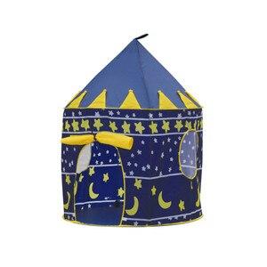 Image 3 - 9 色再生テントポータブル折りたたみ少年少女王子折りたたみテント子供少年城ままごと子供のギフト屋外のおもちゃテント