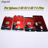 Cltgxdd 1PCS Grade AAA For IPhone 5 5S 5C 6 6S 7 8 Plus LCD Touch