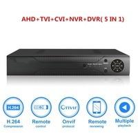 8ch 1080N CCTV DVR Hybrid 5 in 1 H.264 Surveillance Video Record System NO Hard Disk (1080P NVR+1080N AHD TVI CVI +960H Analog)