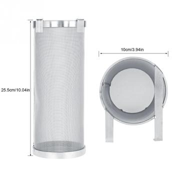 300 Micron Stainless Steel Hop Spider Mesh Beer Filter With Hook 1
