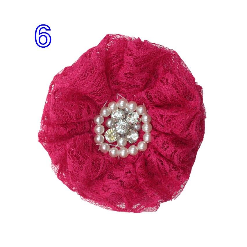 Chiffon com Crystal Bead 10mm Decoração Floral