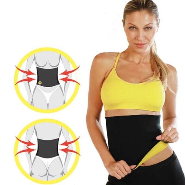 Fitness &Body Shaper | Slimming Belt Waist Cincher S-3XL