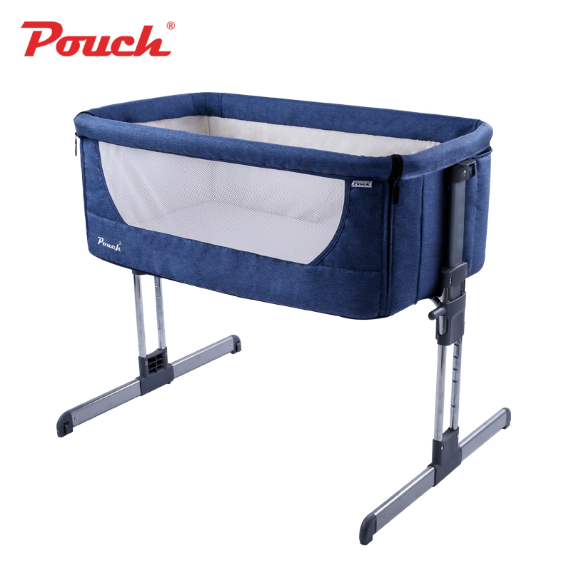 9208d0ea98 Pouch H05 Baby Portable Bed connected with parents  normal big bed Infant  Travel Sleeper Portable Cot breathable folding crib -in Baby Cribs from  Mother ...