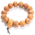 15mm Natural Fruit Featured Walnut Handmade Classic Buddha Beads Bracelet Prayer Beads Exorcise Evil Spirits Men and Women Gifts