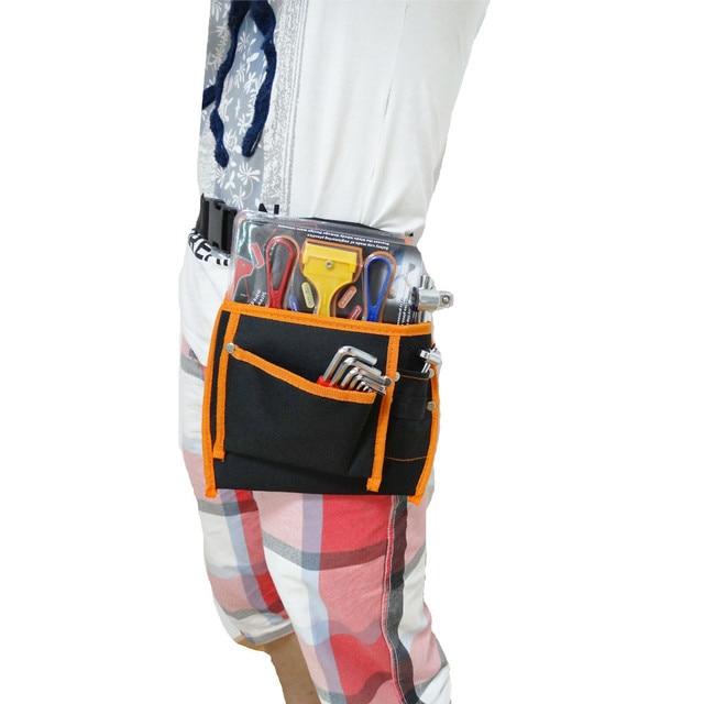 Suyizn 3 bolsillos multi bolsa 600d Oxford material Telas electricista  Herramientas bolsa Equipos herramienta cintura Bolsas 22fa4bf97da5