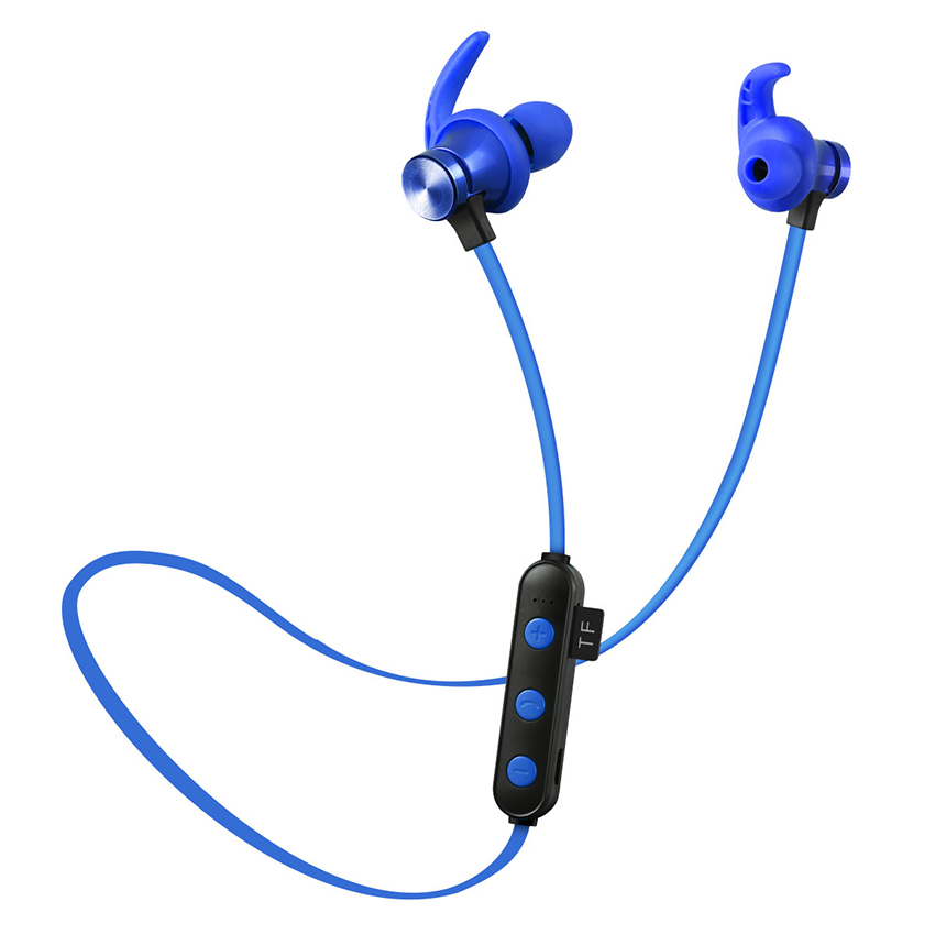 Aimitek XT-22 Magnetic Bluetooth Earbuds-blue
