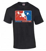 Print Casual T Shirt Brand Men's Short Sleeve Top O-Neck Shoot Duck Dynasty Decoy Commander T Shirt