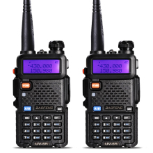 2 Шт. BaoFeng УФ-5R Рация VHF/UHF136-174Mhz& 400-520 МГц Dual Band Baofeng уф-5r Портативный Портативной рации uv5r радиостанция рации для охоты baofen