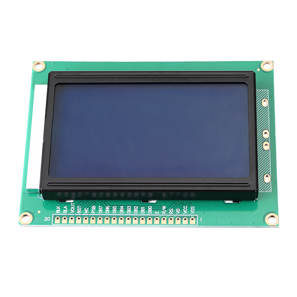 5V 1604 LCD 16x4 Character LCD Screen Blue Blacklight LCD Display Module For Arduino