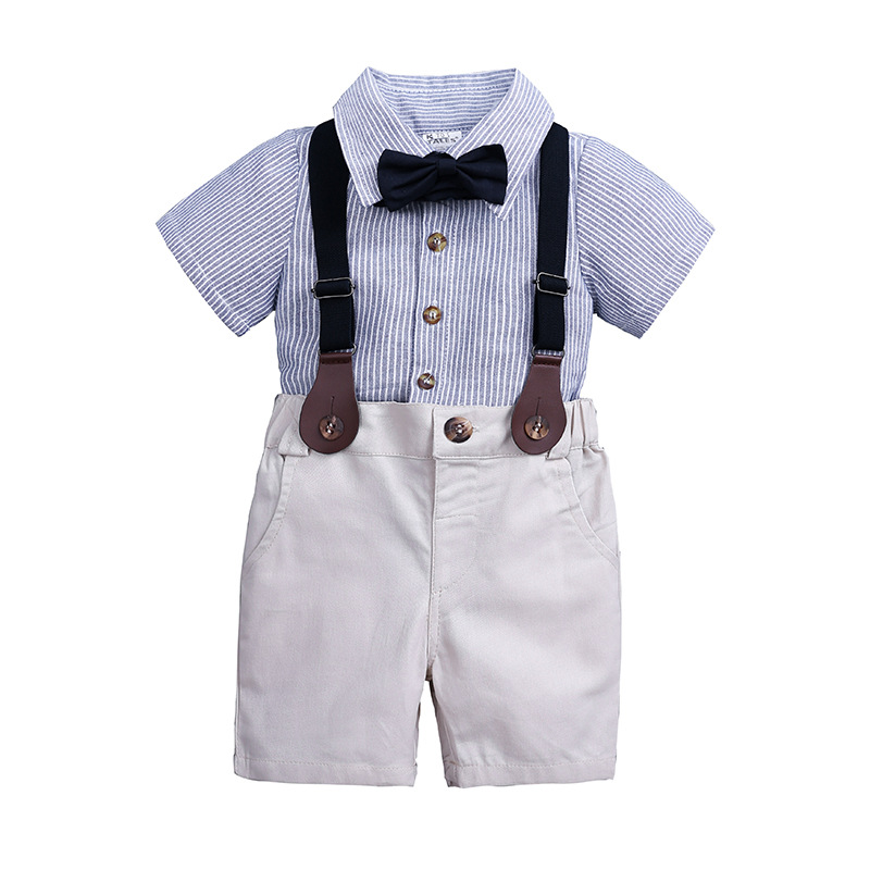 New Summer Toddler Baby Boys Clothing Sets Short Sleeve