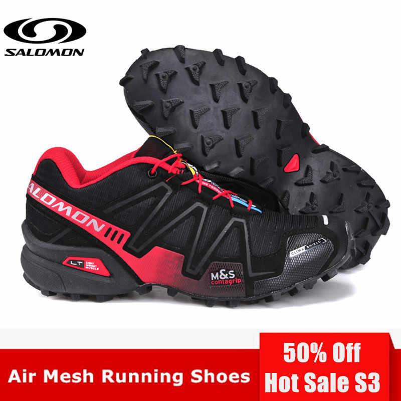 brand new 7419f 161d5 ... Original Salomon Speed Cross 3 CS III Women Shoes Outdoor Woman Pink  Running Shoes zapatillas mujer ...