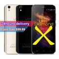 """На Складе Umi Diamond X Смартфон Android 6.0 MTK6737 Quad Core 1.3 ГГц 5.0 """"Экран 2 ГБ RAM 16 ГБ ROM 8.0MP Cam 4 Г LTE Mobile телефон"""