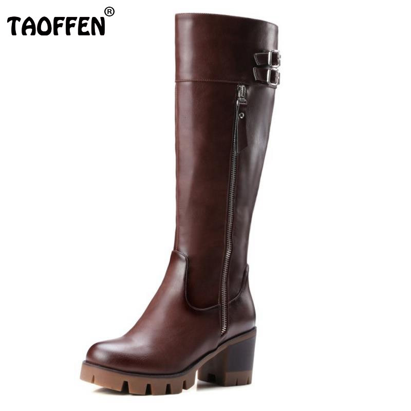 Cool Knight Boots Knee High Boots For Women Gladiator Square Med Heels Round Toe Shoes Winter Autumn Shoes Woman Size 32-42 universal 3 5mm in ear bass earphone mobile phone clear voice earphones with microphone for samsung iphone htc mp3 4 pc
