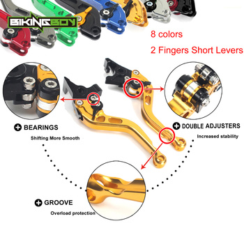 Adjustable Short straight Clutch Brake Levers for SUZUKI GSF 600 S Bandit GSF600S GSF600 1995 1996 1997 1998 1999 95 96 97 98 99