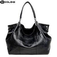 Fringed Totes Bag High Quality Imitation Leather Stitching Women Soft Handbag The Retro Style Large Patchwork