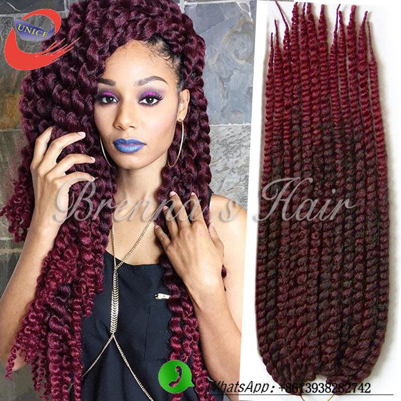 Innocence 3pcs/lot crochet braids 24inch 135g/pc ombre braids hair ...