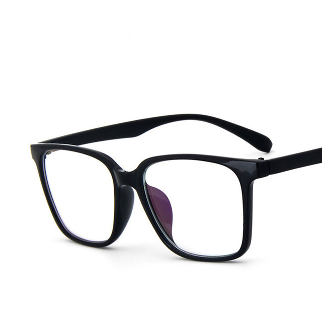 f6214757acb Fashion Trend Retro Men s And Women s Glasses Frame Frosted Clear Optical  Glasses Computer Prescription Glasses Frame