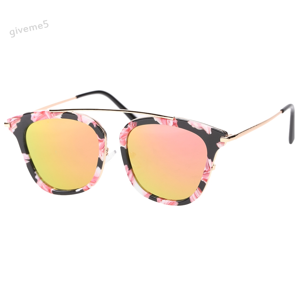 2cbef11641 Fashion Women Sunglasses Square Slim Hollow Floral Print Cute Metal Frame  UV Sunglasses Vintage Women Men Eyeglasses-in Sunglasses from Apparel  Accessories ...