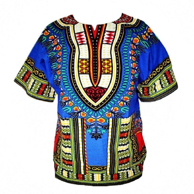 100% Cotton Dashiki T-shirt For Men