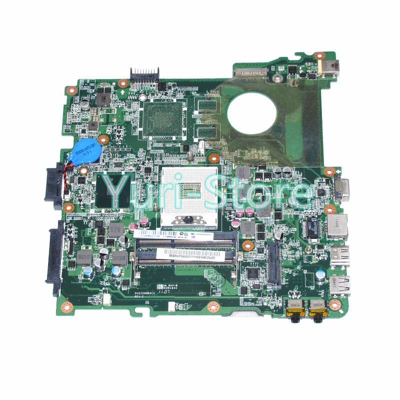 NOKOTION MB.R9Y06.001 MBR9Y06001 for Acer Aspire 4738 4738Z Laptop Motherboard s989 DA0ZQ9MB6C0 100% test nokotion sps v000198120 for toshiba satellite a500 a505 motherboard intel gm45 ddr2 6050a2323101 mb a01