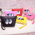 Korean Portable Cartoon Cute Eye Multifunction Beauty Travel Cosmetic Bag Makeup Case Pouch Toiletry Zipper Mini Women Bags