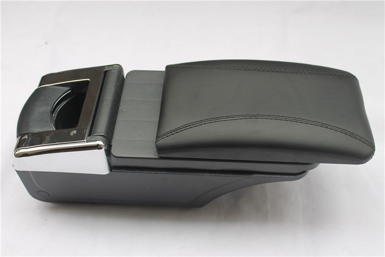 High quality!Storage Box Armrest Center Console For KIA K2/RIO 2012-2014 Only fit for Low-equiped model!! high quality black storage box armrest center console for ford focus 2012 2014 only fit for low equiped model