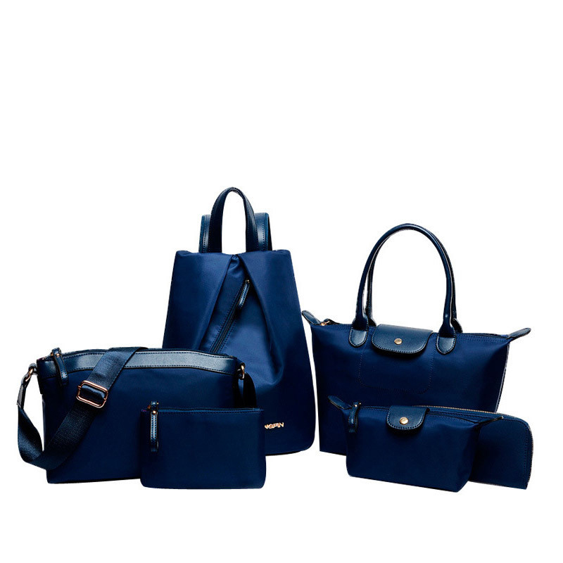 bolsa feminina 6 pcs conjunto Material Principal : Nylon