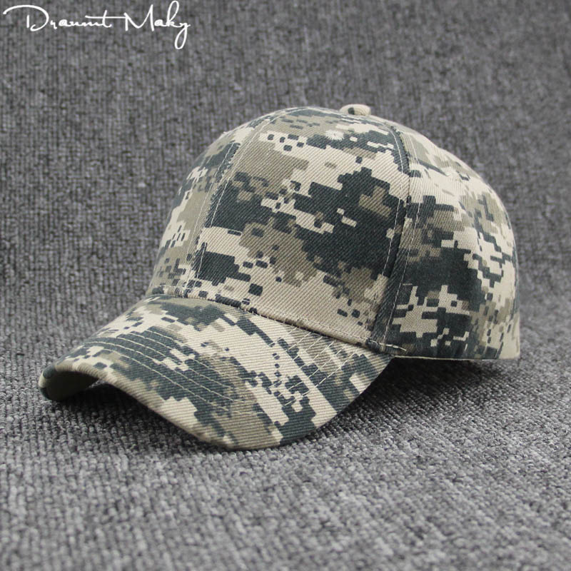 Fashion Army Camo Baseball Cap Men Tactical Cap Camouflage Snapback Hat For Men Women High Quality Bone Dad Hat Trucker Unisex new fashion suede fabric breathable warm baseball cap women hats for men trucker cap snapback winter hat for women b358